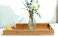 NEW WOODEN BAMBOO LAP TRAY COFFEE TABLE HOME TEA CAKE HOME KITCHEN DECO IDEA
