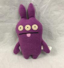 UglyDoll Jrumpy Purple Plush 8 inch 2004 Pretty Ugly