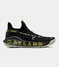 Under Armour Stephen Curry 6 VI Thank You Oakland Black Elemental Yellow 006