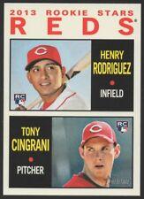 2013 TOPPS HERITAGE #94 HENRY RODRIGUEZ (RC) /TONY CINGRANI - ROOKIE CARD
