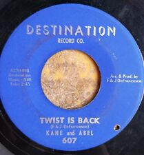 CHICAGO R&B SOUL POPCORN 45: KANE and ABEL Twist Is Back/Break Down and Cry