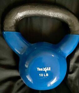 10 POUND KETTLE BELL WEIGHT - BLUE