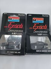 Monogram Mini Exacts 1957 CHEVY BEL AIR! + Buick Grand National!  1:87 HO Scale