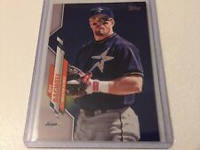 New listing 2020 Topps Series 2 Jeff Bagwell Short Print Photo Variation #686 - Astros