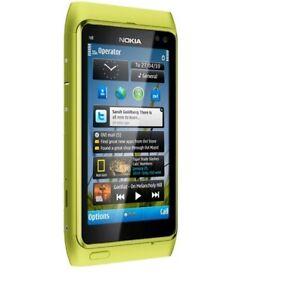 Origina Nokia N Series N8-00 - 16GB Green (Unlocked) Smartphone 12 MP WIFI GPS