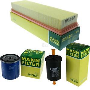 Mann-filter Set Peugeot 206 Hatchback 2A/C 1.4i Bj.98-08 9733499