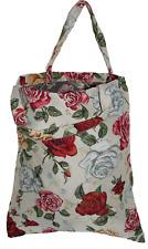 Blumen Einkaufsbeutel neue Rose Gobelin Tapestry Shopper Einkaufstasche