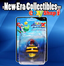 "Nintendo Super Mario Galaxy 2 Mini 2"" Figure Keychain Collection Bee Mushroom"