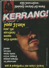 Kerrang  #160  Kiss David Lee Roth Torino Great White  Little Angels   MBX72