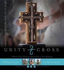 The Unity Cross Brown Rustic Wood Wedding Cross New In Box