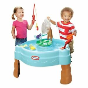 Little Tikes 637803M Fish 'n Splash Water Table Summer Fun for Ages 2 Years+