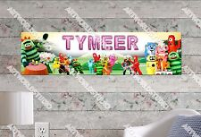 Personalized/Customized Yogabbagabba! Name Poster Wall Art Decoration Banner