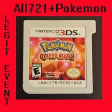 Pokemon: Omega Ruby Loaded With All 721 + 120+ Legit Event Pokemon Unlocked