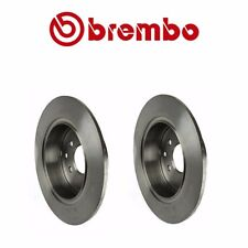 Pair / 2 Rear Disc Brake Rotor Brembo 432063Z600 For Nissan Altima Maxima Sentra