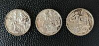 Switzerland Swiss 1948B 5 Francs Commemorative Silver Coins: 3 in total!