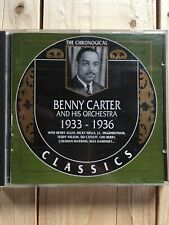 The Chronological Classics   530  Benny Carter and his Orchestra  1933 - 1936