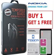 NOKIA TEMPERED GLASS SCREEN GUARD FOR NOKIA 3, NOKIA 6, NOKIA 7, NOKIA 8