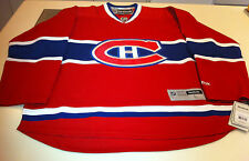 Montreal Canadiens Red Home Jersey NHL Hockey Reebok NWT Adult XL Premier Habs