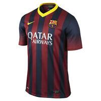Nike FC Barcelona Season 2013-2014 Home Soccer Jersey Brand New Red/Royal