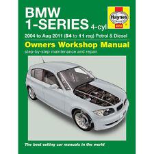 Bmw Serie 1 1.6 2.0 Gasolina 2.0 Diesel 04-11 (5411 Reg) Haynes Manual de taller
