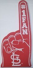St. Louis Cardinals Foam Finger - #1 Fan - NEW - Great for game day party!
