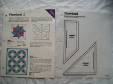 Pinwheel - Quilt pattern and instructions
