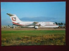 POSTCARD AIR LOGANAIR BAE 146-200 AIRCRAFT