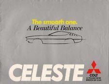 Mitsubishi Colt Celeste 1976-77 UK Market Sales Brochure 1600 ST GSR 2000 GT