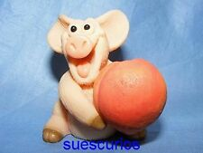 Piggin Peachy Pig Collectable Pig Figure Birthday Present Gift