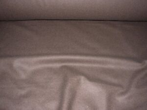 13 YDS WOOL DARK CHOCOLATE BROWN AWESOME MULTI UPHOLSTERY FABRIC FOR LESS