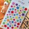 12 Sheets Rainbow Heart Sticker Diary Planner Journal Scrapbook Decor Ablums DSU