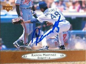 Ramon Martinez Autographed 1996 Upper Deck #354