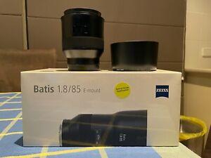 ZEISS BATIS 85MM F/1.8 LENS FOR SONY E-MOUNT