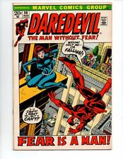 Daredevil #90 (Aug 1972, Marvel) Vf/Nm 9.0 *Falling Cover* Cgc