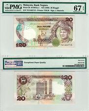 Malaysia $20 P#30 (1989) PMG 67 EPQ