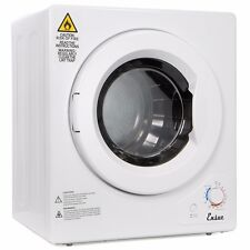 portable Stainless Steel Tumble Dryer 9lbs home apartment rv dorm Compact Dryer