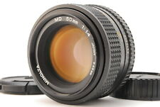 Minolta New MD 50mm f/1.4 Standard Lens For MD Mount from Japan