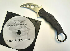 FOX Style Karambit Black Knife Knives Training instruction techniques DVD video