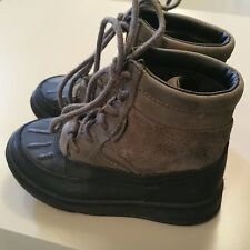 Polo by Ralph Lauren Boy Boots Size 9 Lansing High Rubber Suede Cold Weather
