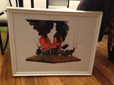 Josh Keyes Scorch 2 Signed and Numbered, Limited Edition of 50