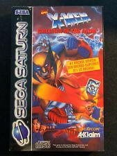 Sega Saturn X-Men Children of the Atom OVP PAL Version!