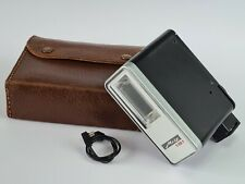 Metz Mecablitz 181 Flash Unit With Leather Case & Sync Cable, Excellent Working