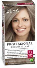 Permanent Cream Hair Dye Elea Professional Colour 7.1 MEDIUM ASH BLOND