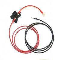 1.5m Harness Cables for Solar Regulators - 4mm 6mm 10mm 16mm 20A 35A 40A fuses