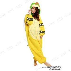 Super Mario Bros. Bowser Kigurumi Costume Unisex Free Size character SAZAC Japan