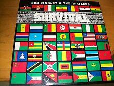 BOB MARLEY & THE WAILERS SURVIVAL  LP INNER CON TESTI