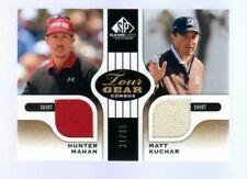 2012 Upper Deck SP Game Used .. Hunter Mahan - Matt Kuchar Relic #31/35