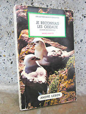 Je reconnais les oiseaux:Europe occidentale,Michel Ribette,éd. Leson 1977 poche