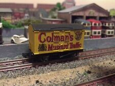 N gauge Peco Colmans Mustard Van. Good condition