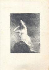 Henri Fantin-Latour Ariane litografia 1901 hédiard 154 primo stato RARO